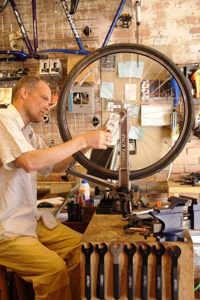 Velowood Cyclery - Wheel truing - Victor Ward